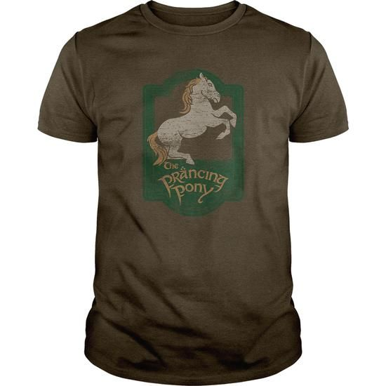 Lord Of The Rings -The Prancing Pony Sign #sunfrogshirt