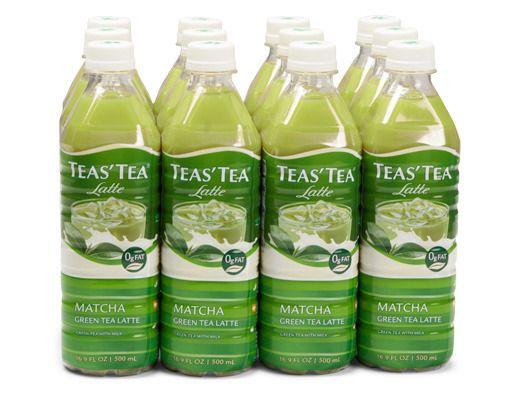 Teas' Tea - 12 x 16.9 oz. - Matcha Green Tea Latte https://www.boxed.com/product/829/teas-tea-12-x-16.9-oz.-matcha-green-tea-latte/