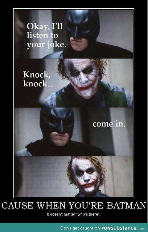 Batman joke - FunSubstance