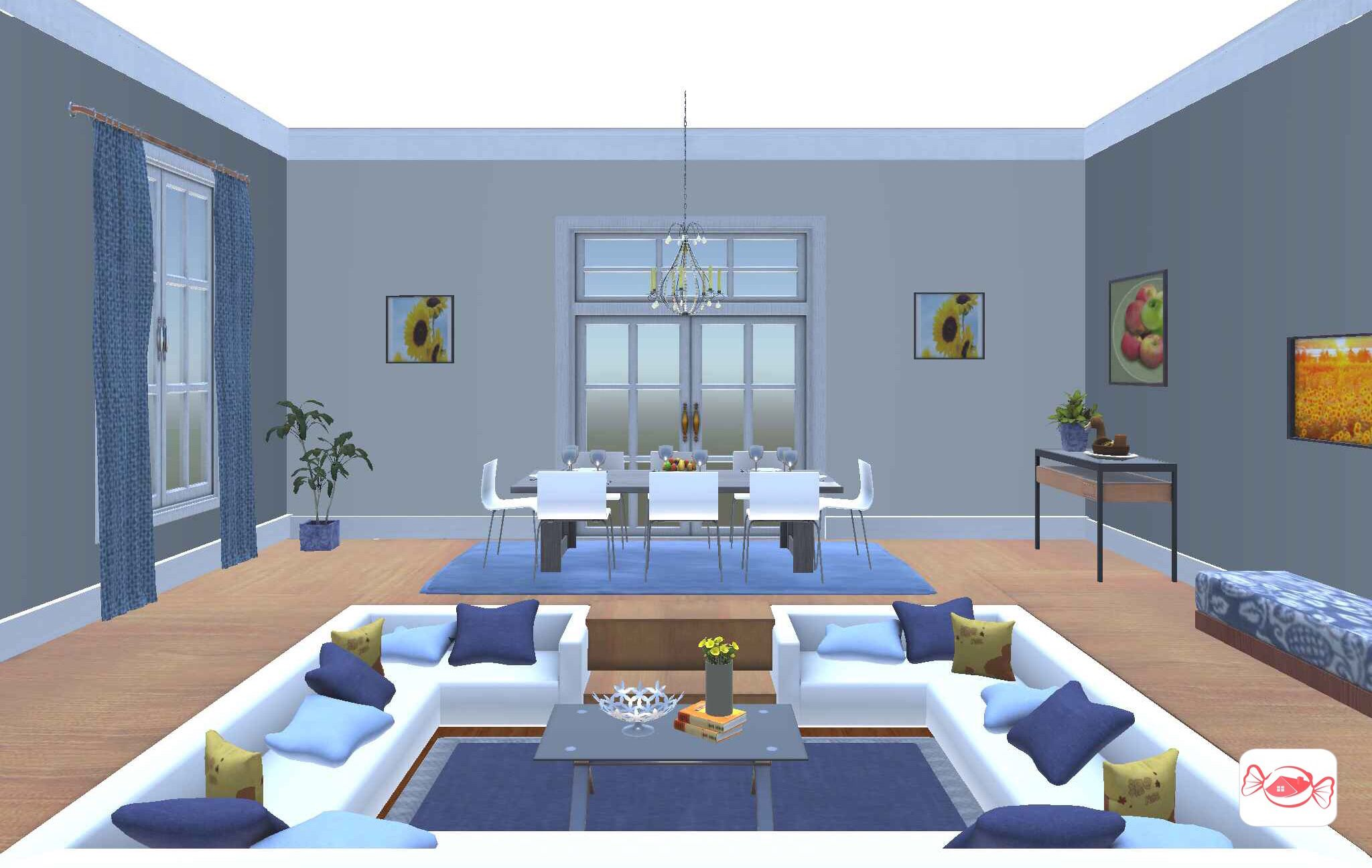 Living Room Sunken Living Room Living Room Design Your Own Home