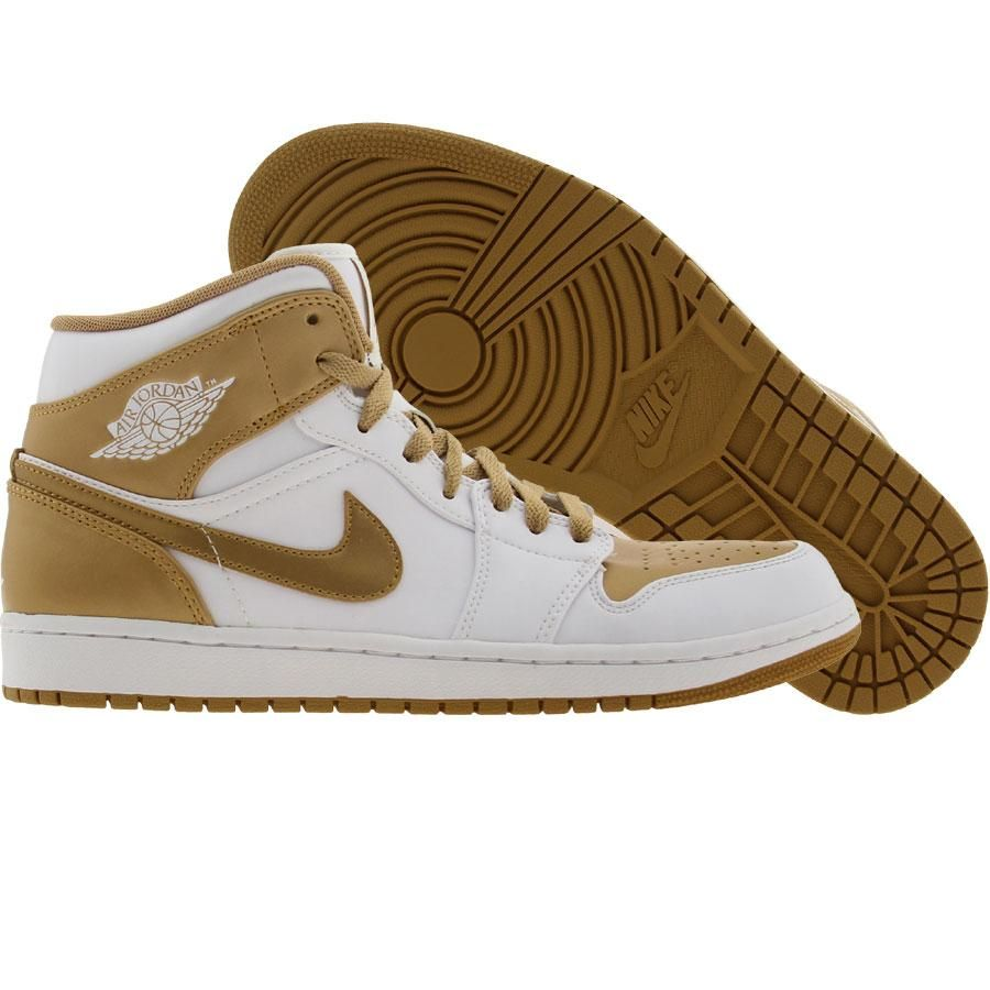 1806590e048 ... new arrivals white and metallic gold air jordan 1 phat shoes 104.99  21ce4 413d4
