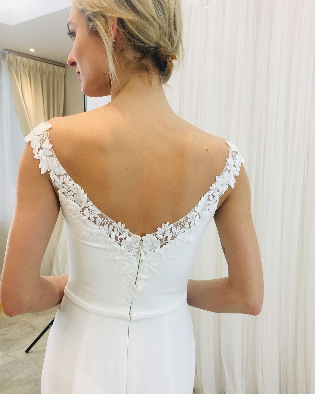 Elegant Plunging Neckline Wedding Dress Style 2252 In 2020