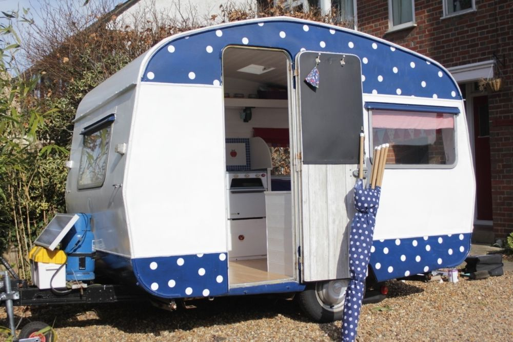 Dotty, 1964 sprite 400 vintage, retro caravan, fully restored, solar