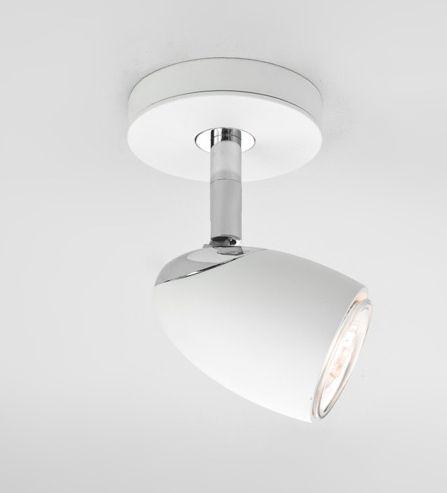 Crisp white single spot light lights pinterest spotlights ceilings crisp white single spot light aloadofball Choice Image