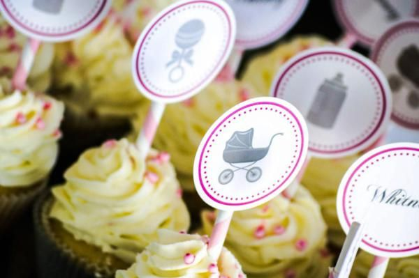 baby shower ideas for girls Gray Princess Girl Themed Baby