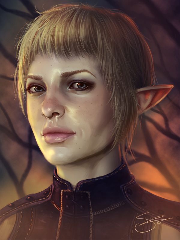 Dragon Age Character Portraits - Created by Suzanne Van PeltYou can follow the artist on Facebook, Twitter, and Instagram.