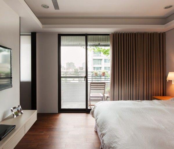 Stadt Weiß Und Schwarz Modern Apartment Interior Design: Moderne  Schlafzimmer Komplett Von Gemütlichen