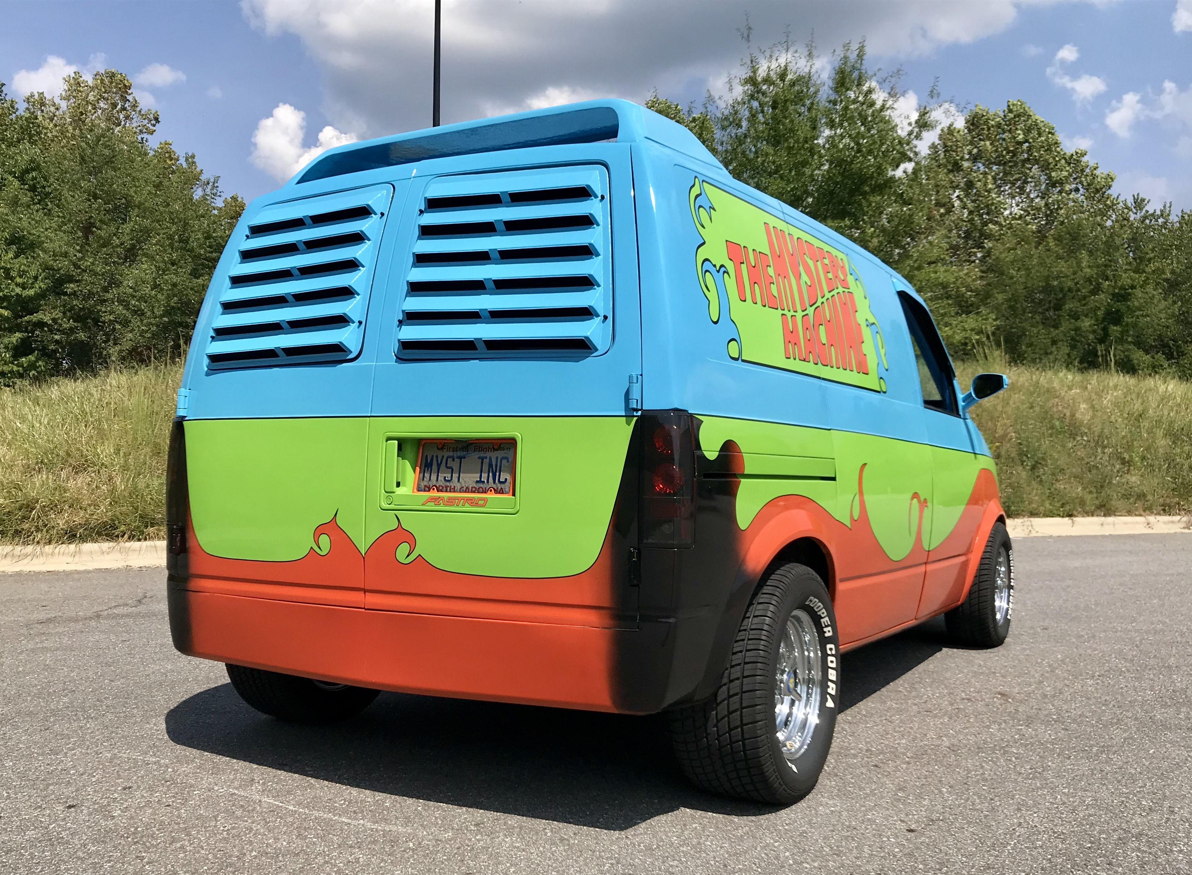 Chevrolet Astro Mystery Machine Image By Mike Hundley Chevrolet Van