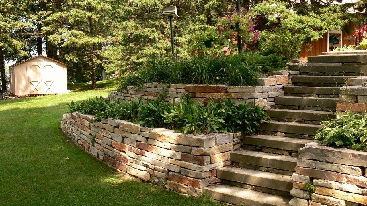 40 Muros De Piedra Muros Decorativos Para Jardín Jardín