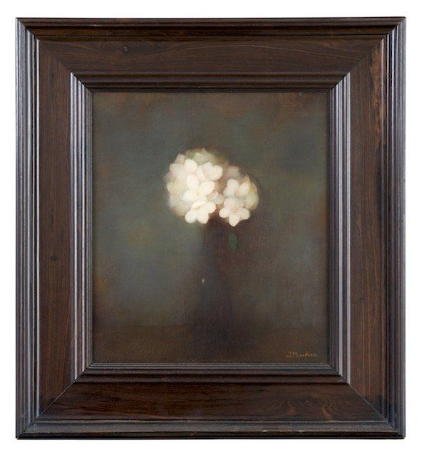 Vaas met jasmijn olieverf, doek (canvas) 1913 - Mankes, Jan - Museum Arnhem