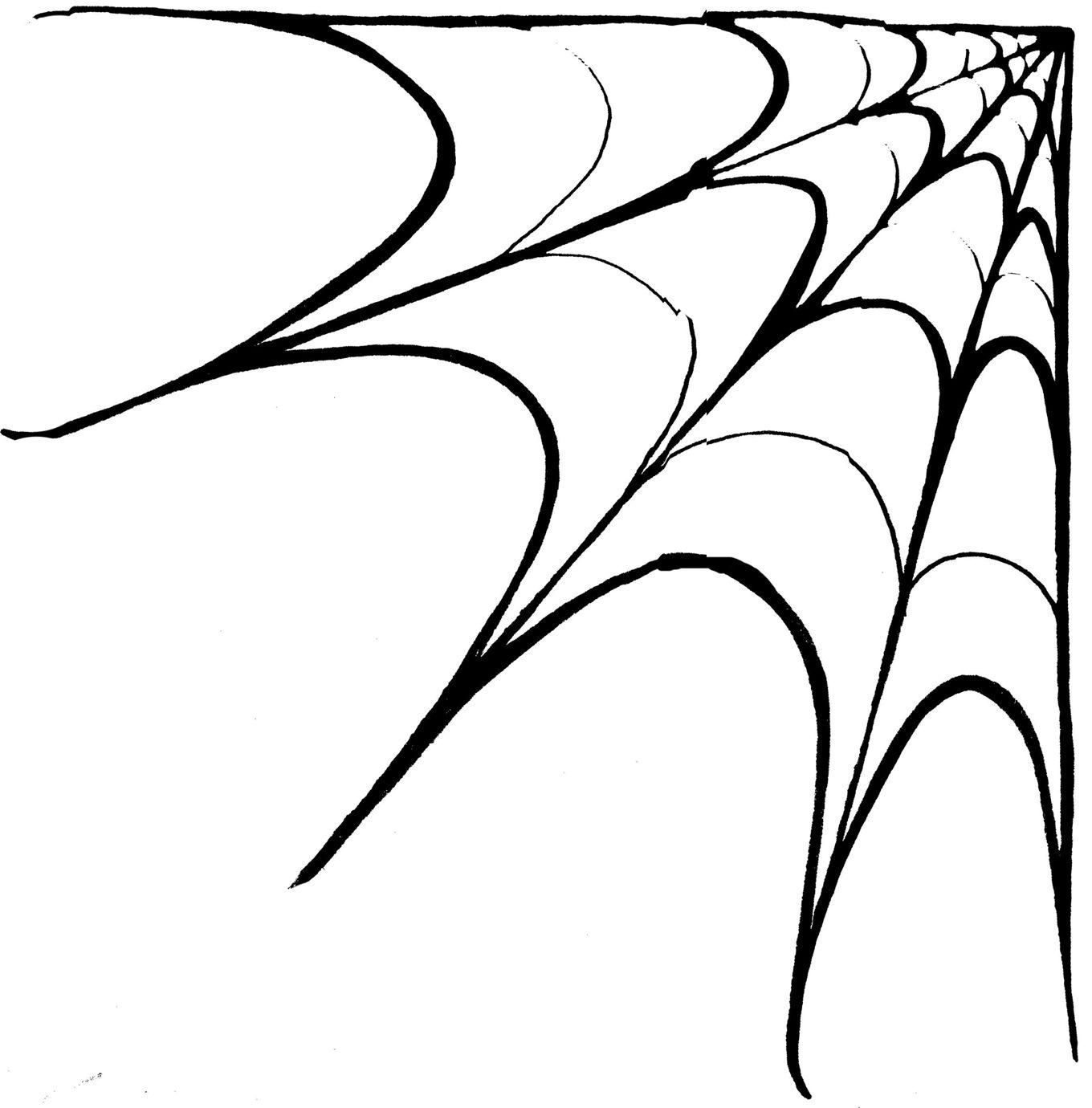 corner spider web clipart jcx5nlmcejpeg 13601380 - Spider Web Halloween