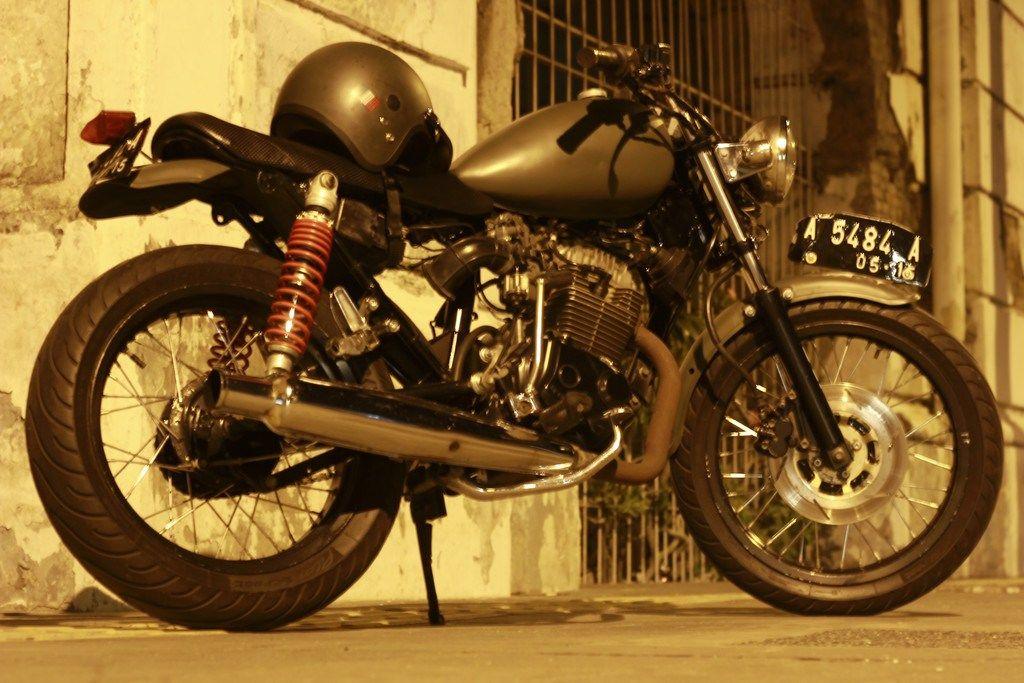 Modifikasi Motor Honda Tiger Tahun 2001 Dengan Modif