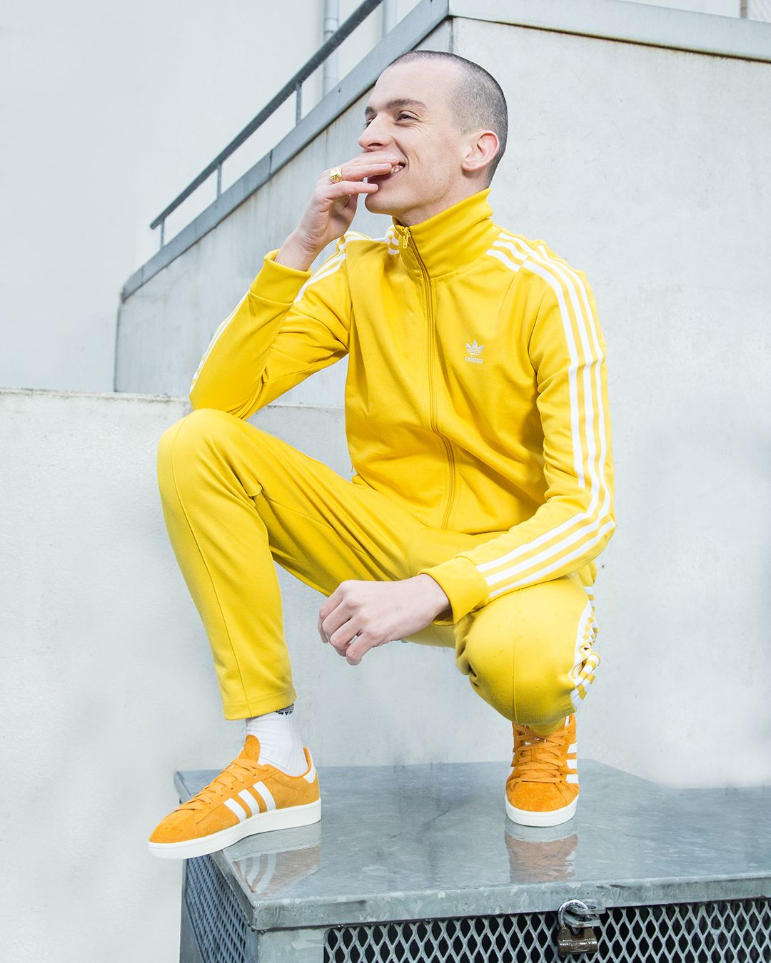 adidas yellow track pants tracksuit | Yellow adidas