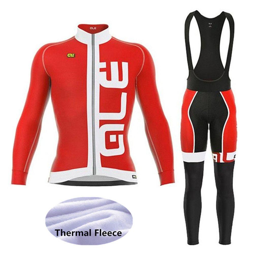 Mitad de precio ropa deportiva de alto rendimiento más popular 2018 FUQVLUN Cycling Clothing Winter Thermal Fleece Racing ...