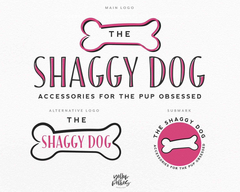 Dog Bone Pet Shop Premade Logo Design Pet Store Logo Dog Logo Puppy Logo Vet Logo Bone Logo Dog Walker Si Pet Store Pet Store Design Cute Pet Names