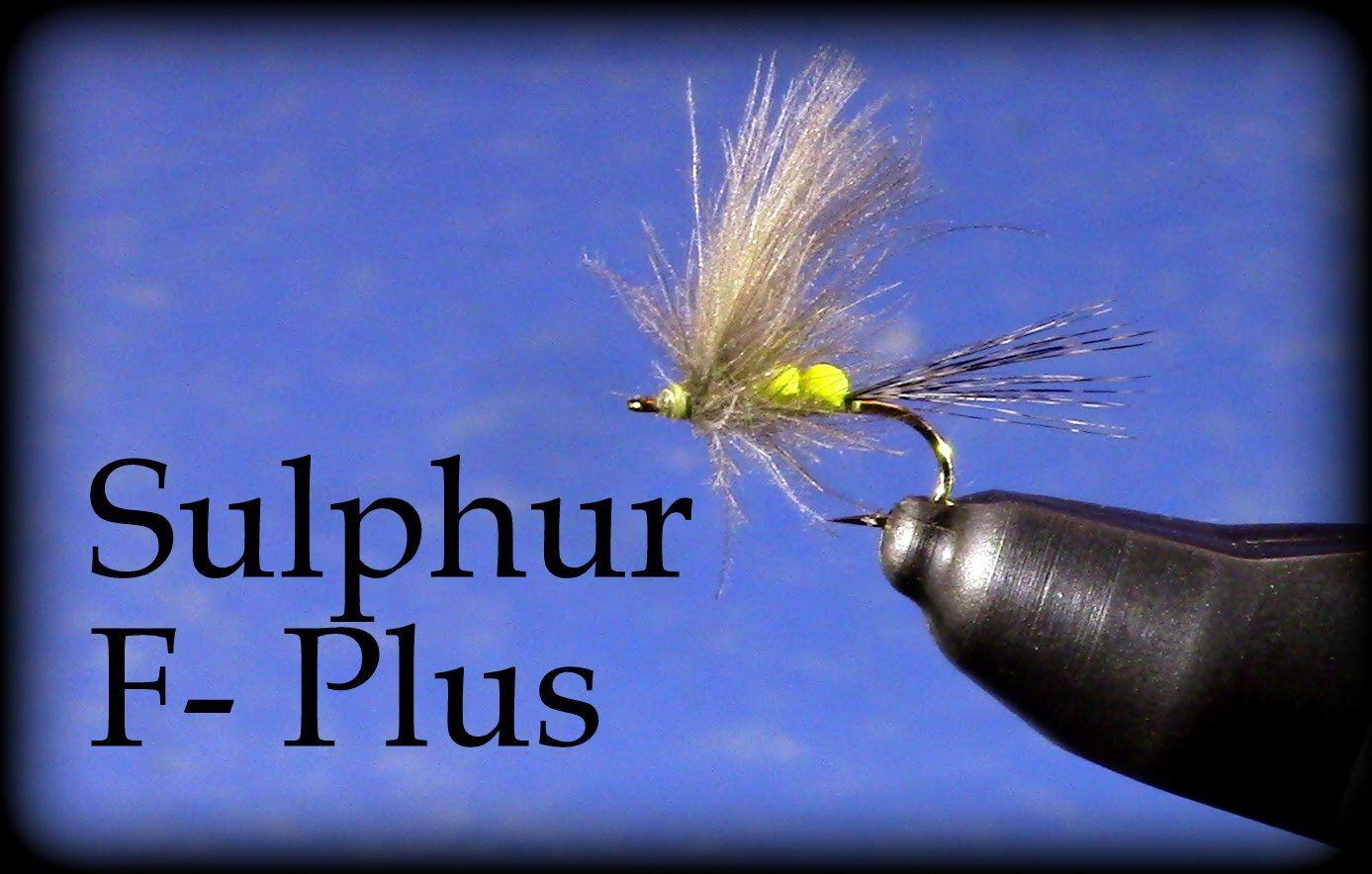 Fly Tying: Loren Williams' Sulphur F-Plus - YouTube