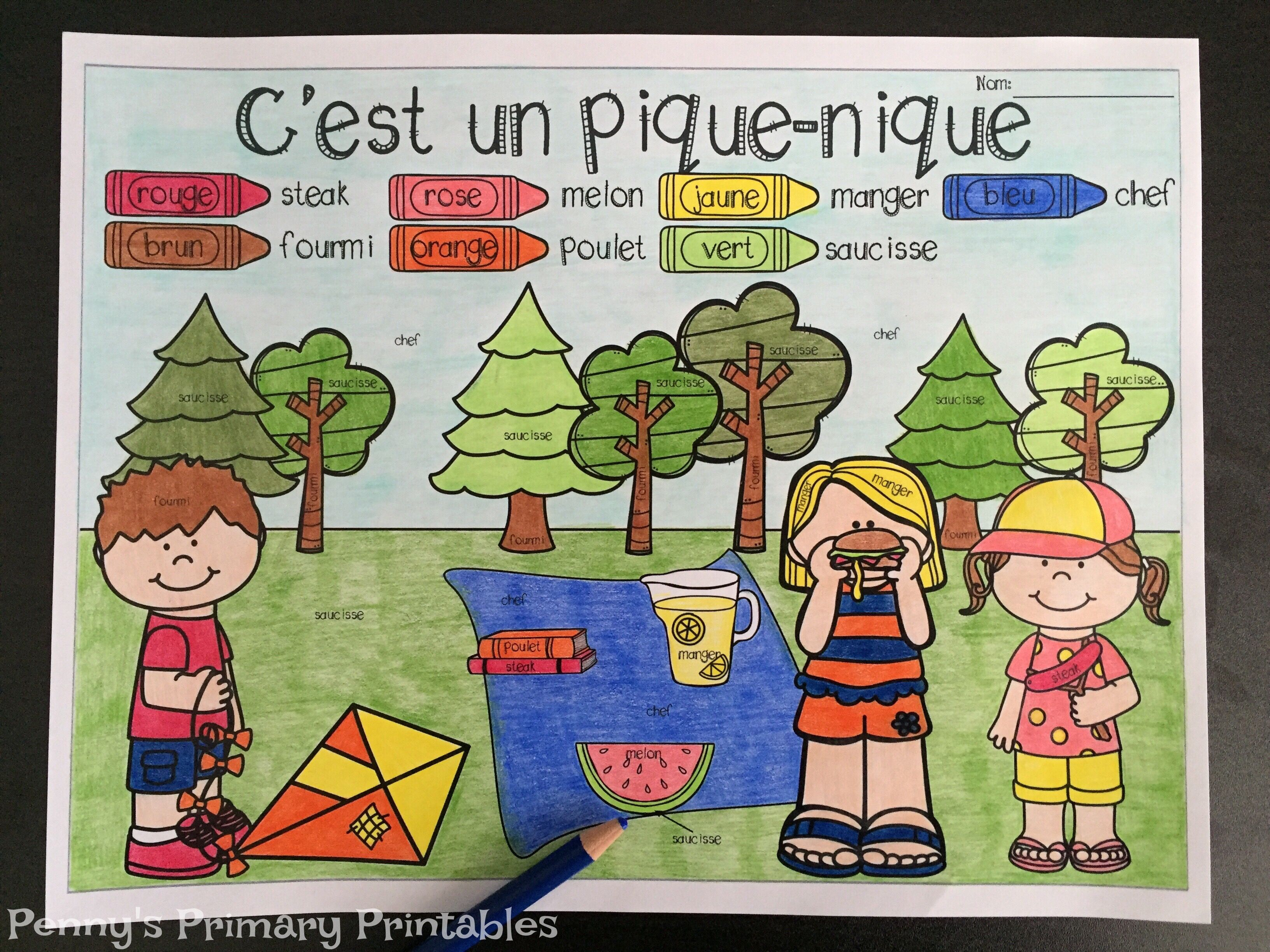 French Picnic Write The Room Perfect For Any Time Of The