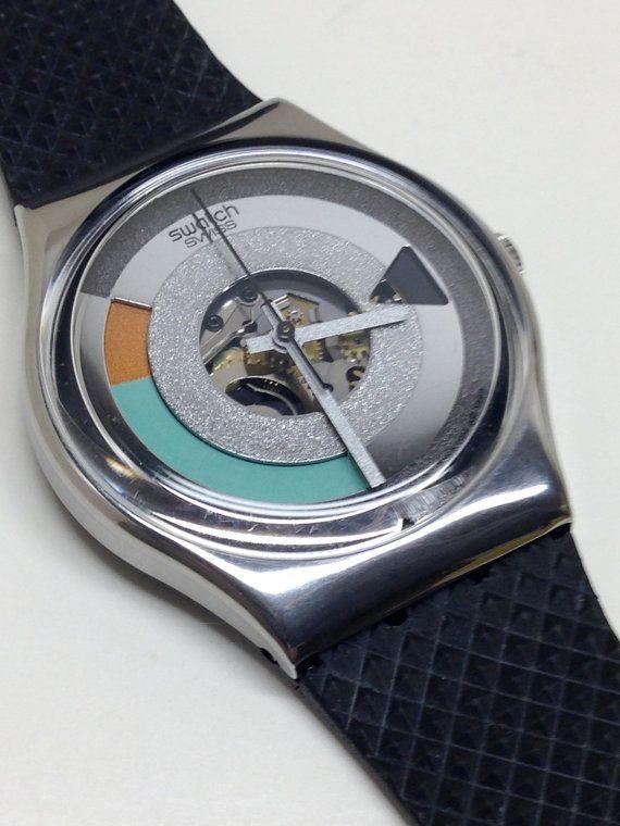 Vintage Swatch Watch Metropolis Gx405 1989 Vintage Swatch Watch Swatch Watch Swatch