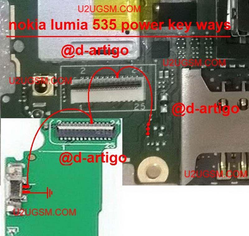 Microsoft Nokia Lumia 535 Power On Off Button Ways | mobile