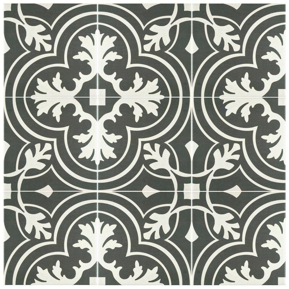 Merola Tile Twenties Classic Ceramic Floor And Wall Tile 7 34 In