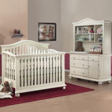 Sorelle 3 Piece Nursery Set Vista 4 In 1 Pine Convertible Crib Combo Dresser Changer Baby Furniture Sets Baby Nursery Furniture Sets Nursery Furniture Sets