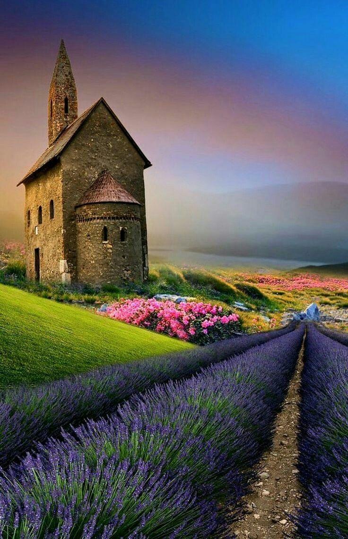 lindo paisajes humanizados pinterest lavender