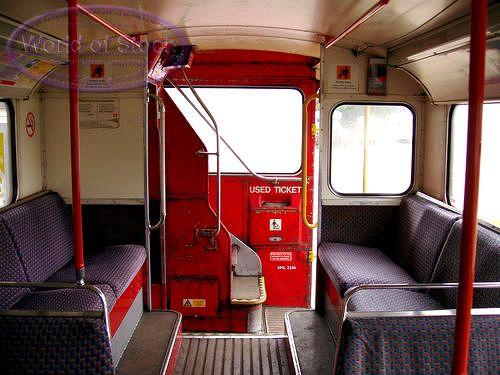 Interior Double Decker Bus World Home Appliances