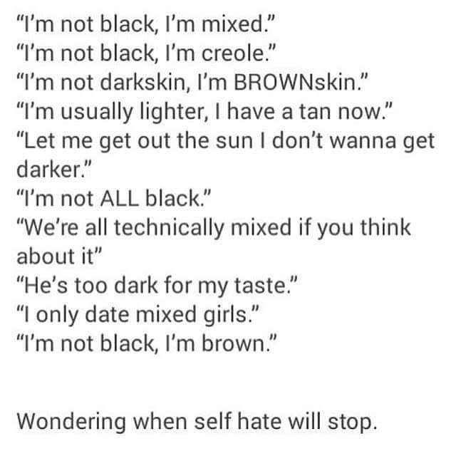I Am Black And I Love It It S So Crazy I Ve Seen It Time And