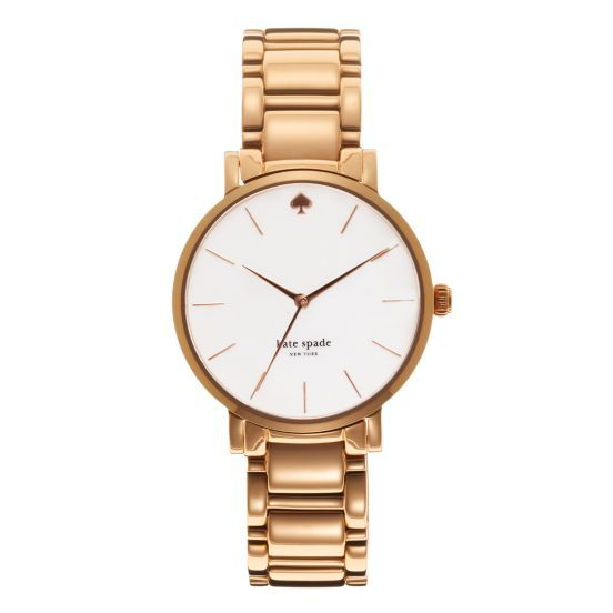 My sister just got this fantastic Kate Spade watch. Good thing we share things :)