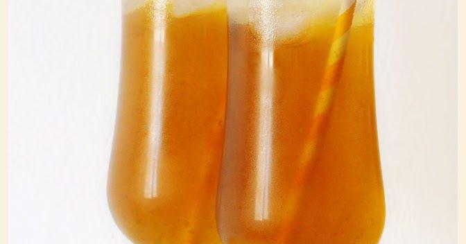 Te helado al limón (Lemon Iced Tea)