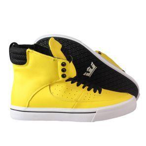 d8d7605b9a04 nouvelle collection 2014 Supra - Kondor Shoes Yellow Black-White ...