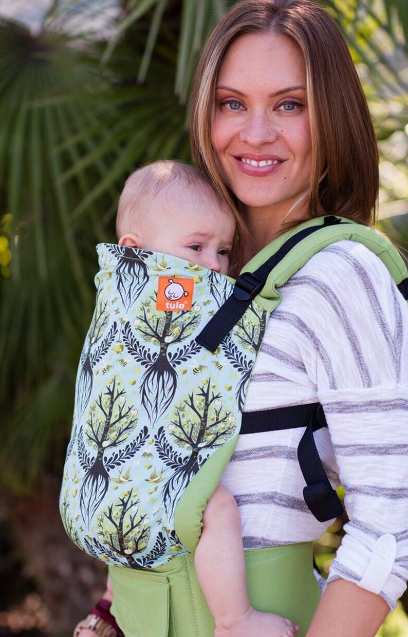 Canvas heart hugs exclusive tree of life tula baby carrier