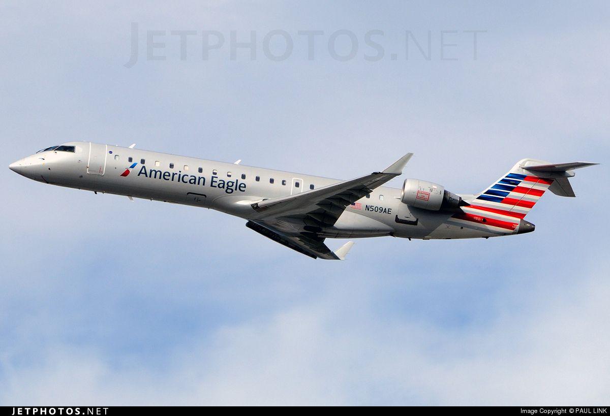 Bombardier CRJ-701 N509AE 10078 Los Angeles Int'l Airport - KLAX