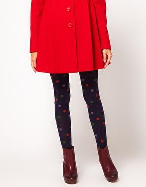 a61c39426b9 Enlarge Gipsy Multi Colored Spot Tights