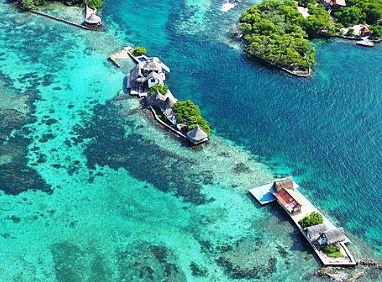 Islands Of Baru Near Cartagena Colombia