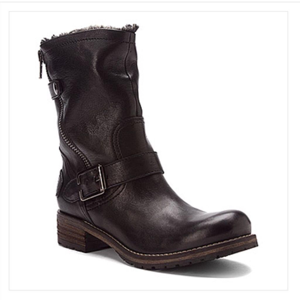Indigo By Clarks Black Leather Majorca Sun Boots   Color: Black   Size: 9
