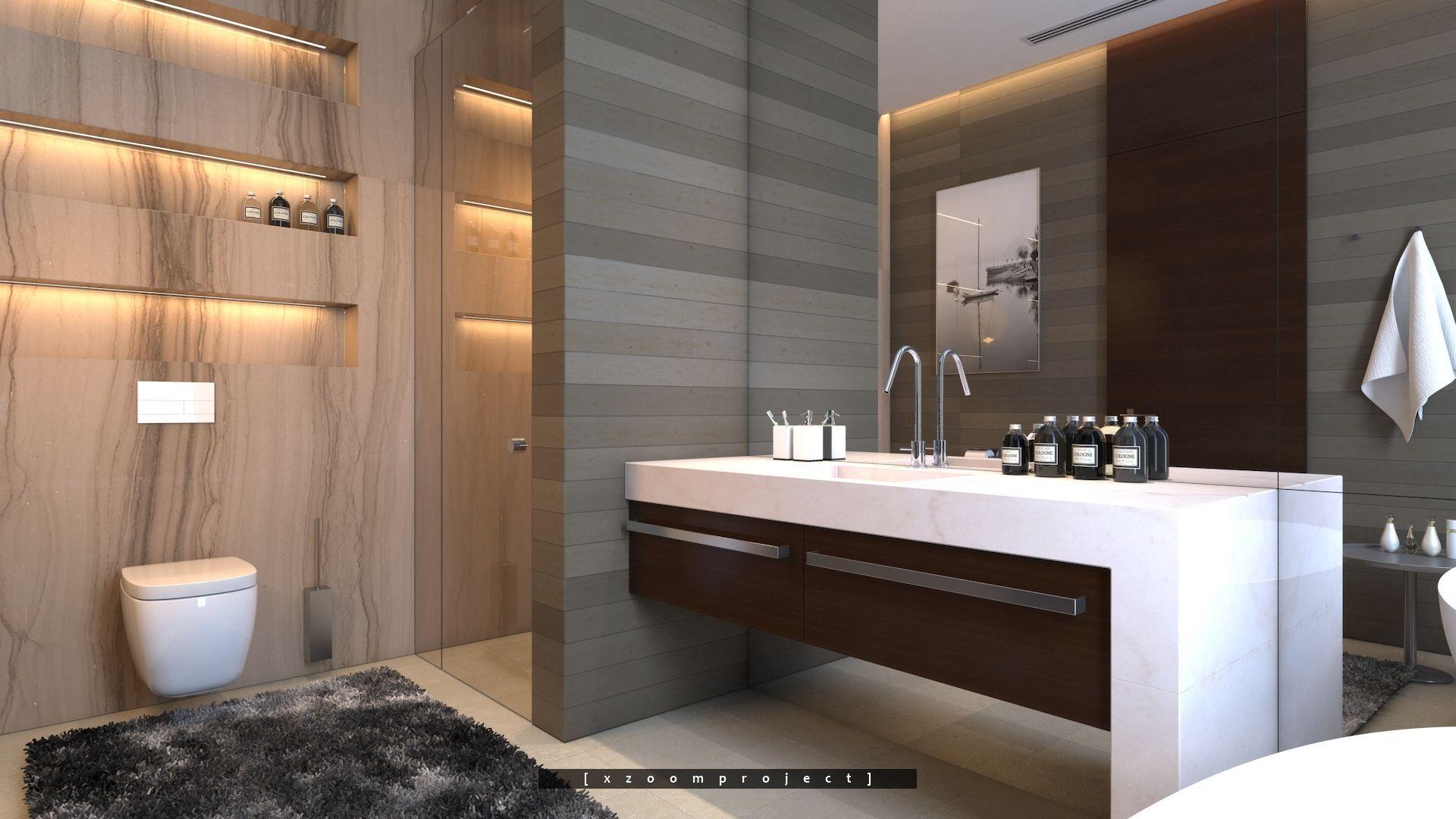 Luxury Villa Interior. Saudi Arabia. Bathroom. # ...