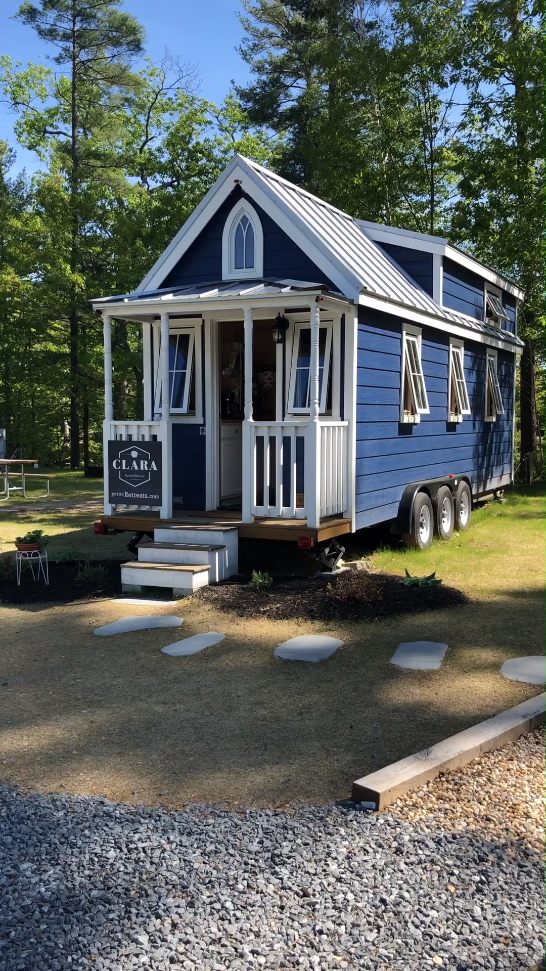 Tiny House Tour of Clara Tiny Home on Wheels! #tinyhouses