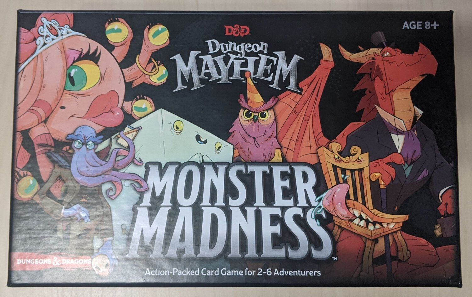 MONSTER MADNESS est une extension incroyable pour DUNGEON MAYHEM