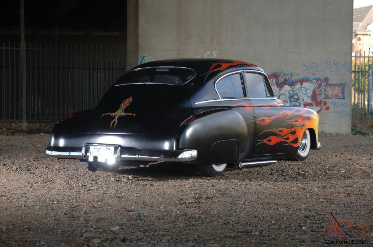 1950 Chevy Fleetline And Custom Built Trailer Chevy Classy Cars