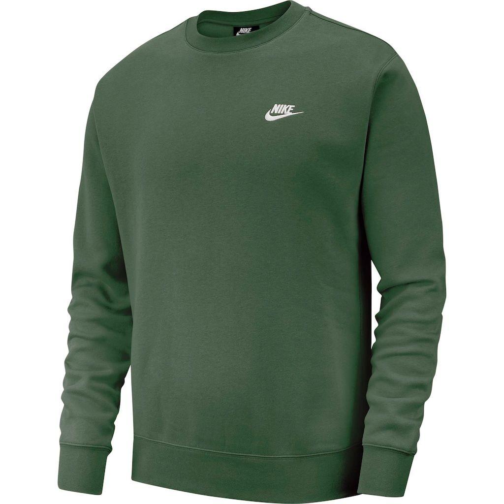 Men S Nike Club Fleece Crew In 2020 Club Sweatshirts Nike Men Nike Sweatshirts [ 1024 x 1024 Pixel ]