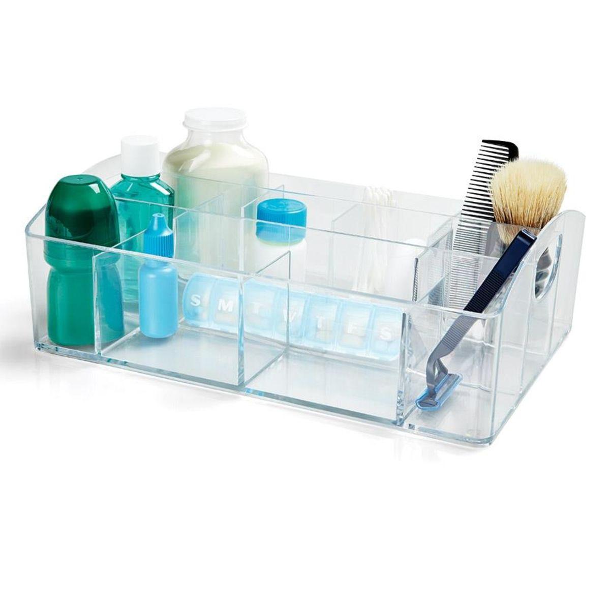Multi Section Organiser Homemaker Bathroom Campus Living