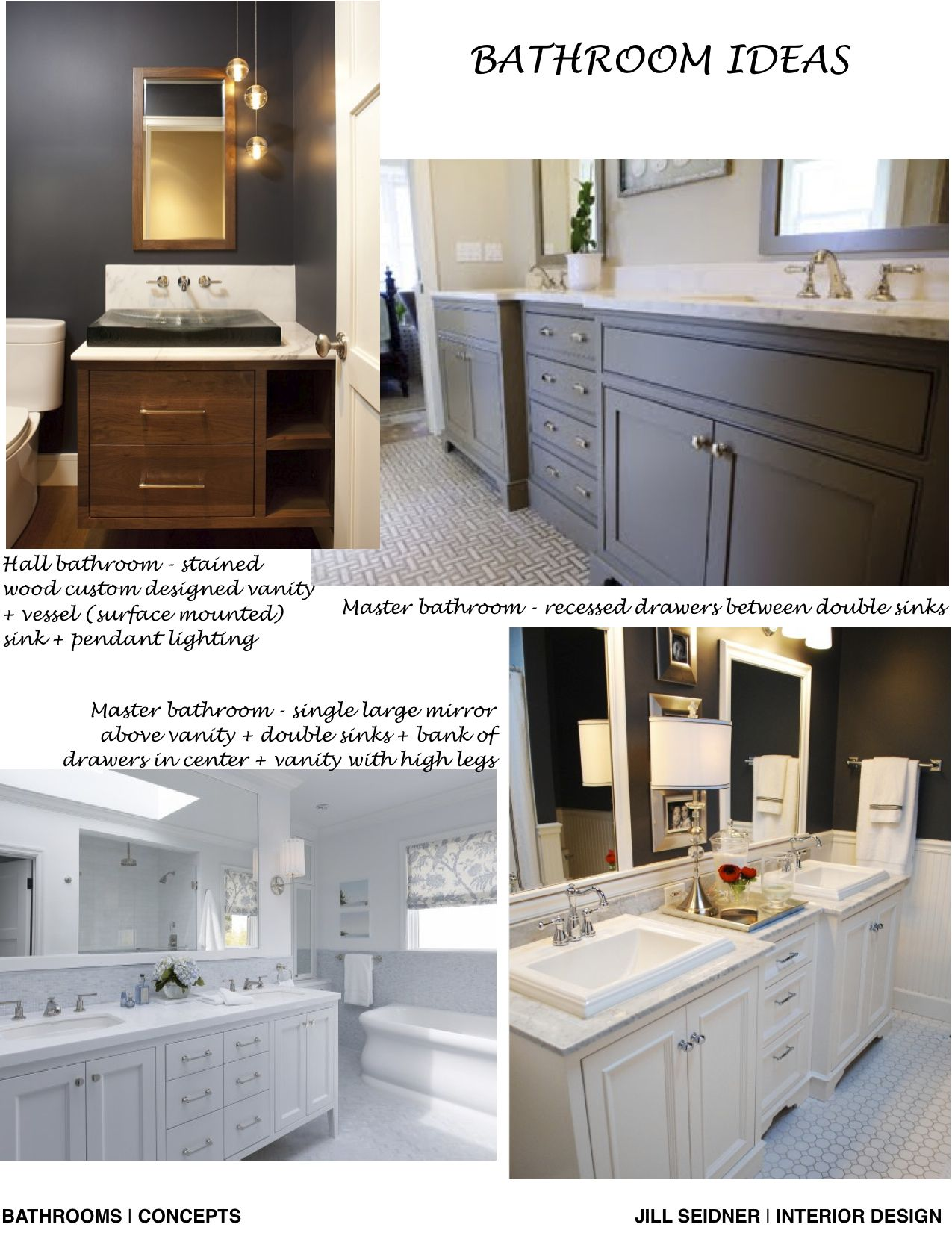 Pasadena House Bathroom Remodel Concept Board Like The Gray Finish - Bathroom remodel pasadena