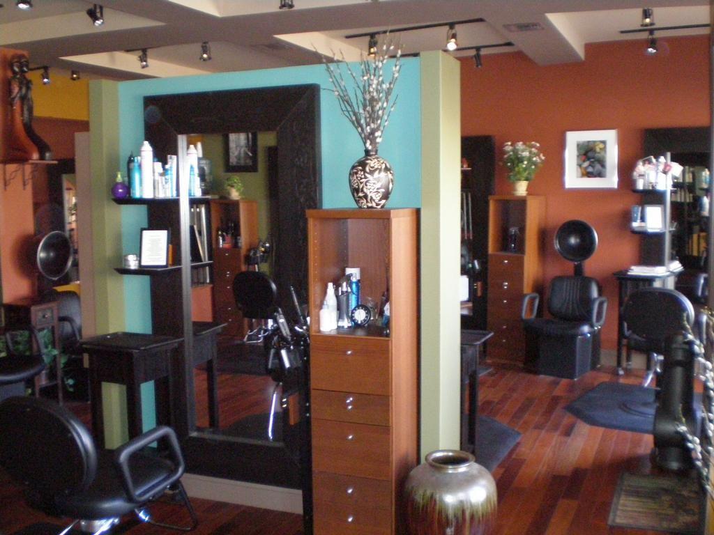 nice beauty salon decoration ideas interior design