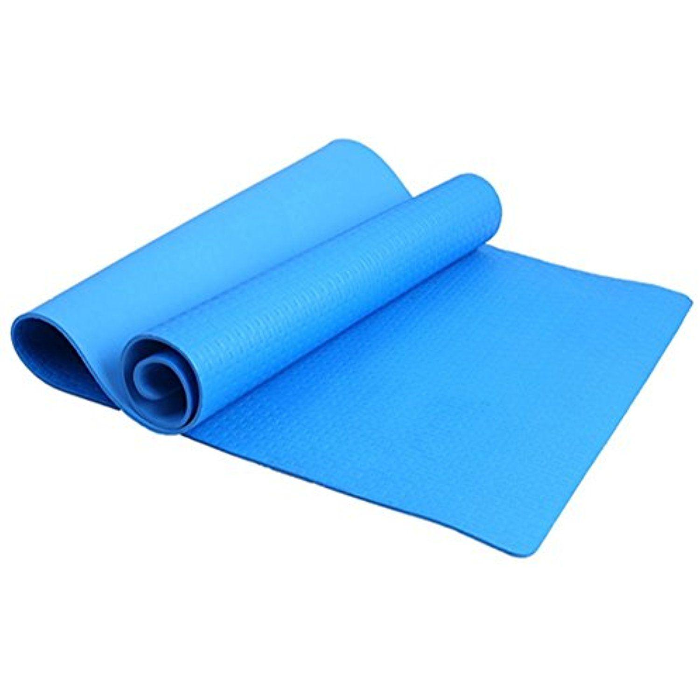 Bottone 4mm Thickness Yoga Mat Non Slip Eva Foam Yoga Pad Dampproof Sleeping Mattress Mat For Pilates Fitness Workout Workout Pad Yoga Pad Flexibility Training