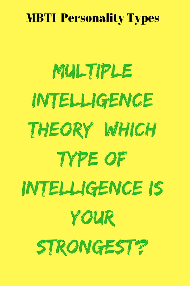 Multiple Intelligence Theory Which Type Of Intelligence