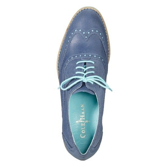 the cheapest up-to-datestyling best online Cole Haan blue oxfords - Autumn will be here before we know ...