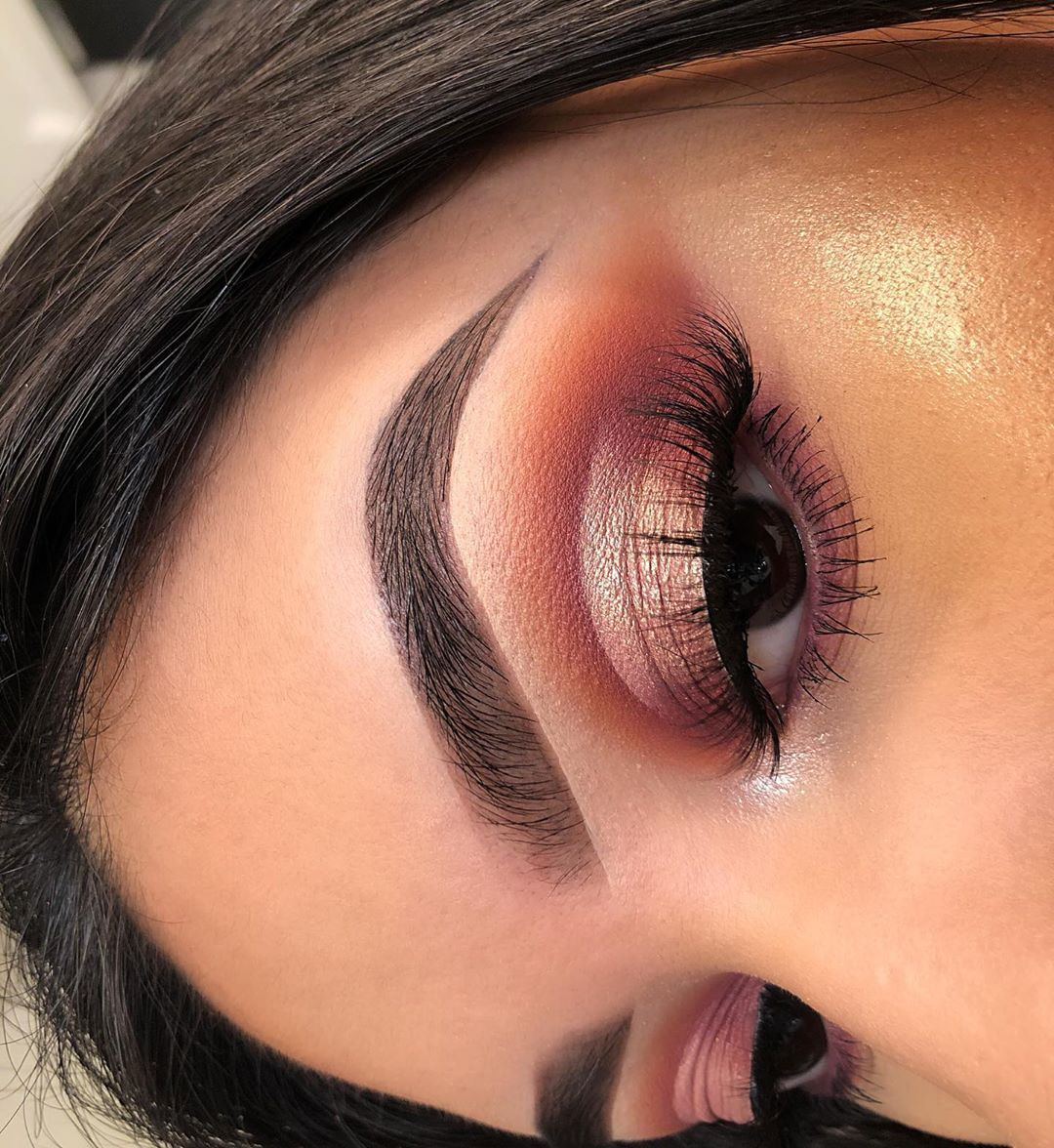 """Jenny on Instagram """"super simple cute halo eye I used the"""