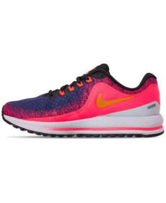 e5c90e8a45cb2 Nike Women s Air Zoom Vomero 13 Running Sneakers from Finish Line - Blue 7.5