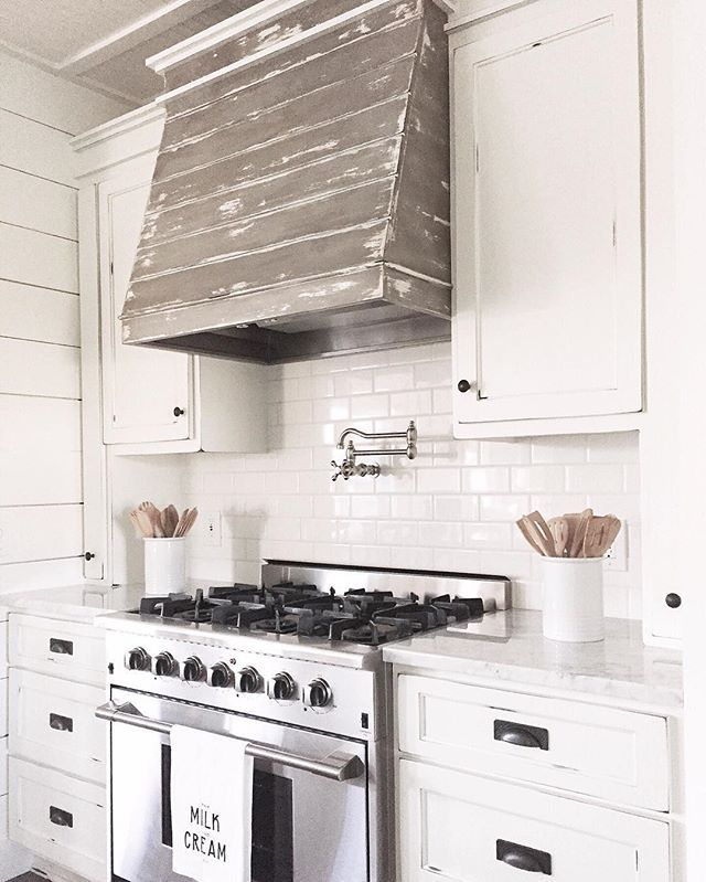 To pot fill...or...not to pot fill? Definitely...to pot fill  I'm not sure it saves you a whole lot of inconvenience, as you still have to carry the steaming hot pot to the sink! But...it looks awesome  Have a beautiful day you guys! XO! #BrightWhiteWednesday